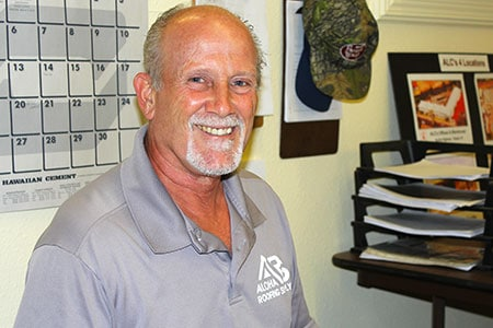 Brian, Aloha Roofing Supply