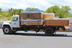 Aloha Roofing Supply Delivers