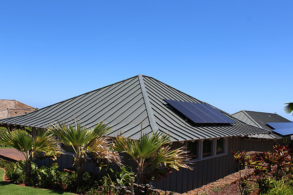 Zinc Roof Materials Kauai