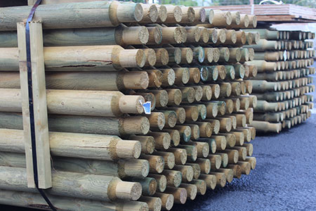 Ag Fencing Wood Posts