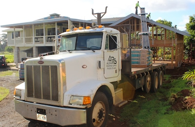 Roof Material Delivery & Loading